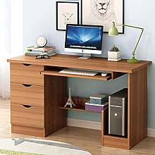 XHF Computer Desk with Drawers,Computer Table with
