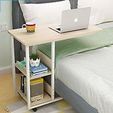 XHF Computer Desk with Storage Shees,Bedside