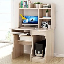 XHF Computer Desk with Storage Shees,Writing