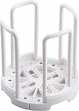 XHF Cutlery Rack,Retractable Desktop Bowl Holder