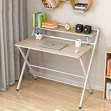 XHF Folding Computer Desk for Small Space,