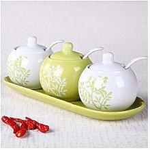 XHF Spice Jars,Magnetic Spice Jar Ceramic Spice