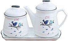 XHF Spice Jars,Spice Jar, Handkerchief and Kitchen
