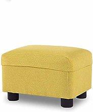XHF Stools Cloth Footstool Sofa Stool Fashion Nail