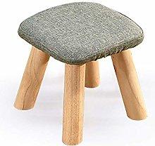 XHF Stools Sofa Stool, Solid Wood Home Plus Height