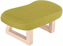 XHF Stools Solid Wood Stool, Upholstered