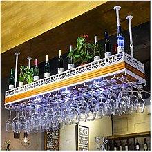 XHF Wine Rack,Wine Racks Upside Down Bar Tall