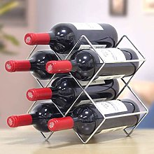 XHF Wine Racks,Wine Rack Countertop Wine Rack, Red
