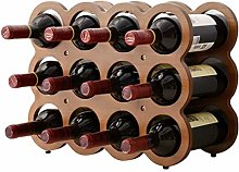 XHF Wine Racks,Wine Rack Stackable Wine Rack,