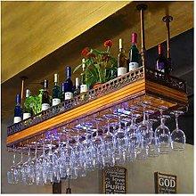 XHF Wine Racks,Wine Rack Upside Down Bar Tall