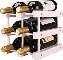 XHF Wine Racks,Wine Rack Wood Wine Rack,