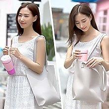 Xhlc Pink Personal Blender, Portable Travel Mini
