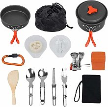 XHLLX Outdoor Kitchen Cooking Sets,For 1-2 People