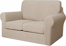 XHNXHN Jacquard Sofa Cover with 2 Separate Cushion