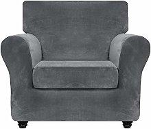 XHNXHN Luxury Velvet Sofa Cover with Separate