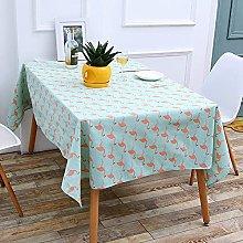 XHNXHN Printed Cotton And Linen Table Cloth