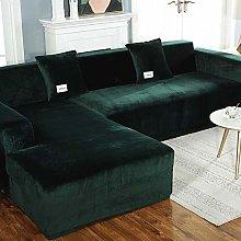 XHNXHN Sofa Cover For 3 Cushion Couch,velvet Couch