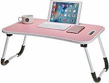 Xhtoe Adjustable Laptop Bed TableFoldable Laptop
