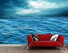 XHXI 3D Mural Wallpaper Beautiful Ocean Seascape