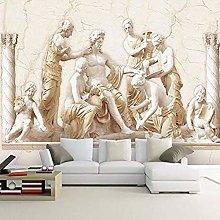 XHXI 3D Mural Wallpaper European Style Roman