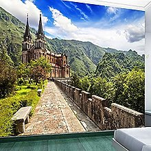 XHXI 3D Photo Wallpaper Natural Scenery Tv Sofa
