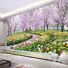 XHXI 3D Photo Wallpaper Romantic Natural Landscape