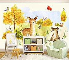 XHXI 3D Wallpaper Photo Wallpaper Kids Room murals