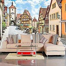 XHXI European City Town Photo Restaurant Living