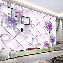 XHXI Large Mural 3D Sofa Bedroom Living Room TV