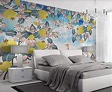 XHXI Panoramic Wallpaper 3D Frozen Fruit Tree
