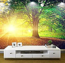 XHXI Photo Wallpaper Modern Large HD Park Tree