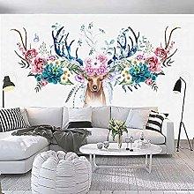 XHXI Sofa Background Wallpaper_Simple Nordic