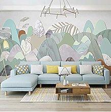 XHXI Wallpaper Modern Style Simple 3D Mural Living