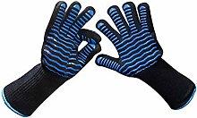 xiahe BBQ Oven Gloves, 800℃/1472℉ Finger high