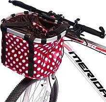 Xiamusummer Pet Cat Dog Seat Folding Bicycle