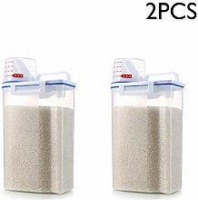XIAMUSUMMER Rice Storage Box, Cereal Storage