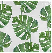 XiangHeFu Palm Leaf Background Table Cloth Napkins