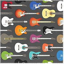 XiangHeFu Placemats Art Colorful Guitar Musical