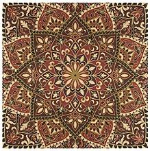 XiangHeFu Polyester Cloth Napkins Geometric