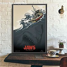xiangpiaopiao JAWS poster classic movie posters