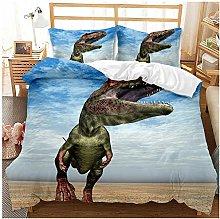 XIANGYUN Kids Bedding Set Dinosaur Boy Quilt Cover