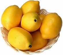 Xiangze 6 x Artificial Lime Lemon Decorative Foam