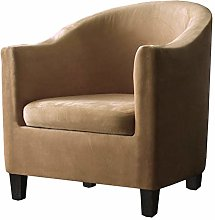 XIANYU 2 Pieces Tub Chair Covers,Spandex Velvet