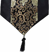 Xianzhengfu Floral embroidered Table Runner With