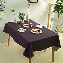 XIAOBAO Heavy Weight Vinyl Tablecloth,Pure color