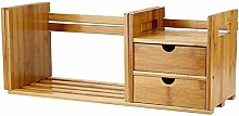 XiaoDong1 Bookshelf with Expandable Storage and