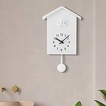 XiaoDong1 Nordic style wall clock cuckoo bird out