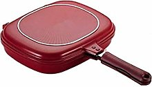 XiaoDong1 Square Double Sided Frying Pan, Kitchen