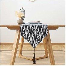 XIAOFANG Japan Style Cotton And Linen Ukiyoe Weave