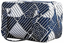 XIAOGEGE Insulated Lunch Bag, Cotton, Linen,